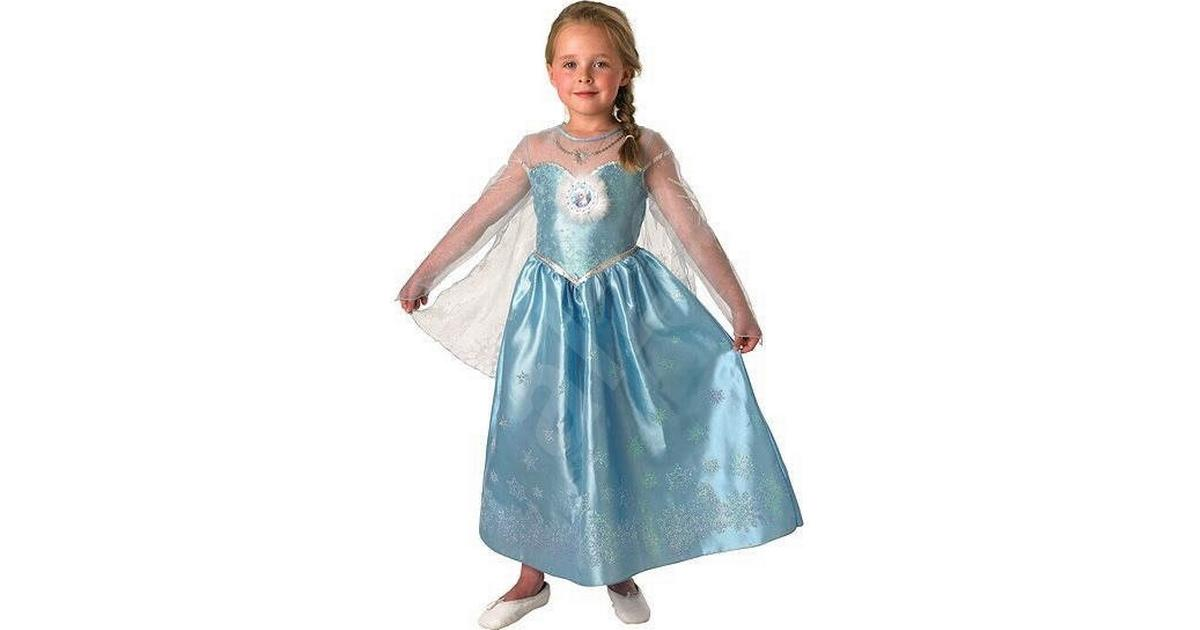 Rubies Frost Elsa Deluxe Klänning Barn • Se priser (11