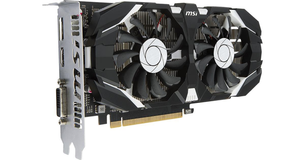 MSI GeForce GTX 1050 DirectX 12 GTX 1050 2GT LP 2GB 128-Bit GDDR5 PCI Express 3.