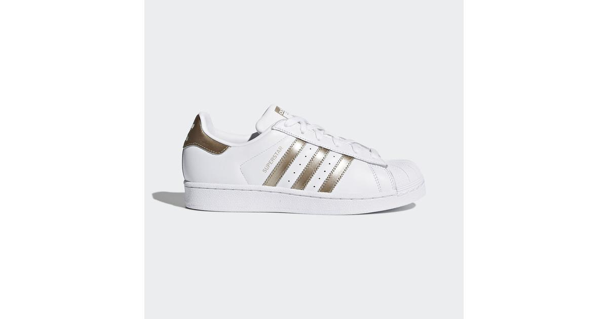 adidas Superstar Metal Sneaker Vita, Dam adidas Sneakers