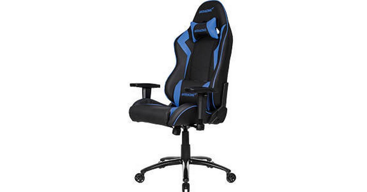 Akracing Octane Gaming Chair Black Blue Se Priser 1