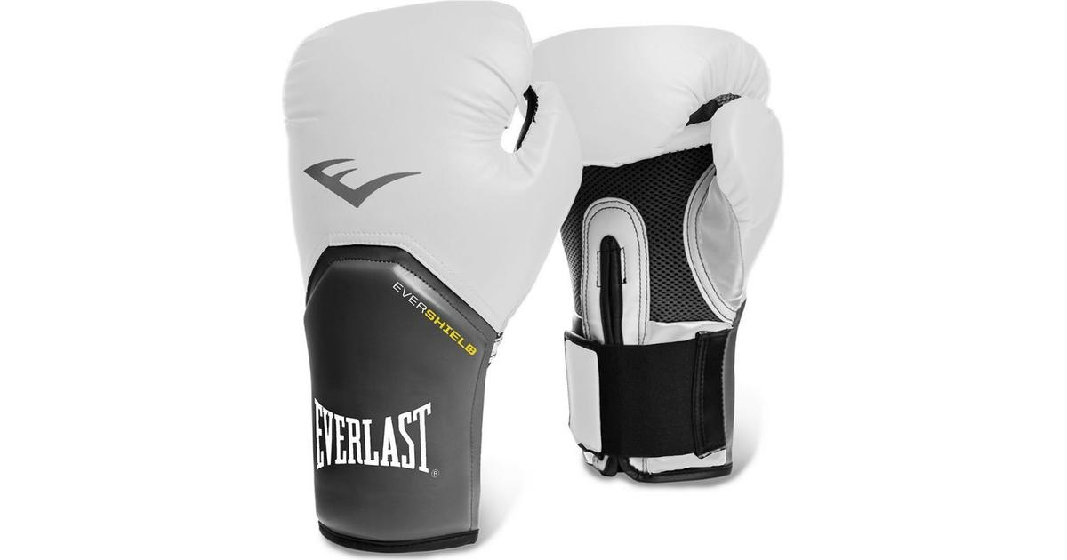 Black Details about  /Everlast Pro Style Training Boxing Gloves Size 16 Ounces Open Box