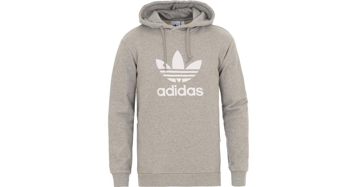 Adidas Trefoil Warm Up Hoodie Medium Grey Heather Hitta bästa pris, recensioner och produktinformation på PriceRunner Sverige