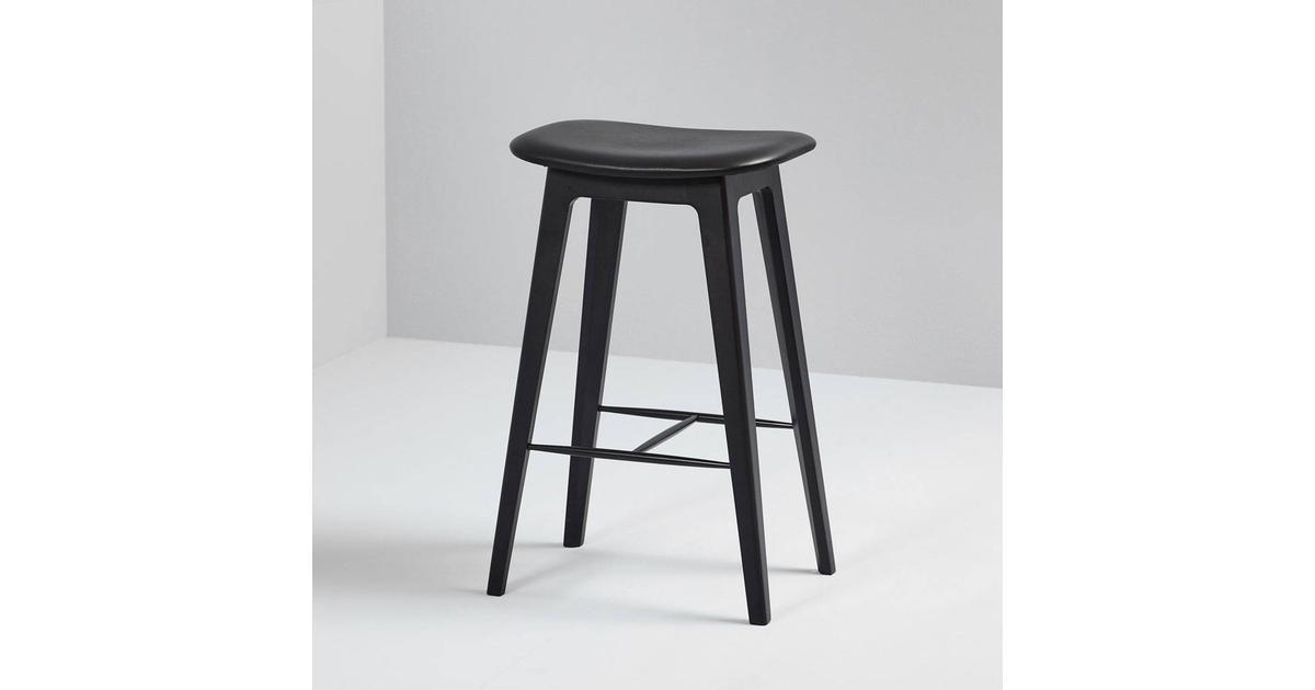 SACKit Nordic Barstol Brun Läder, Ek