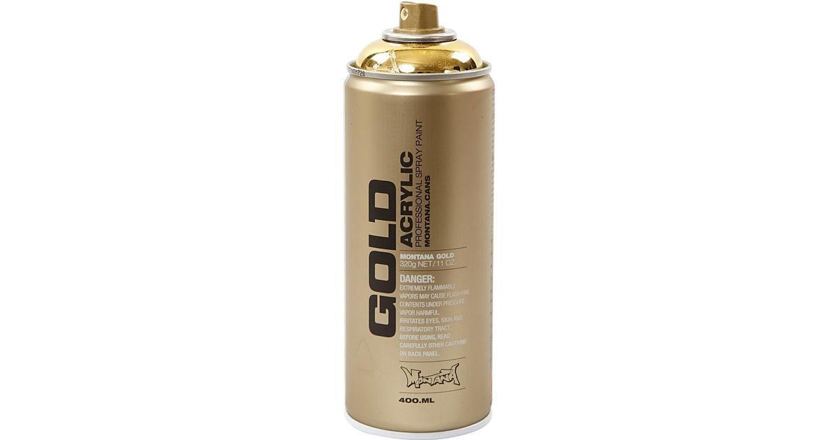 Montana Professional Spray Paint Gold 400ml