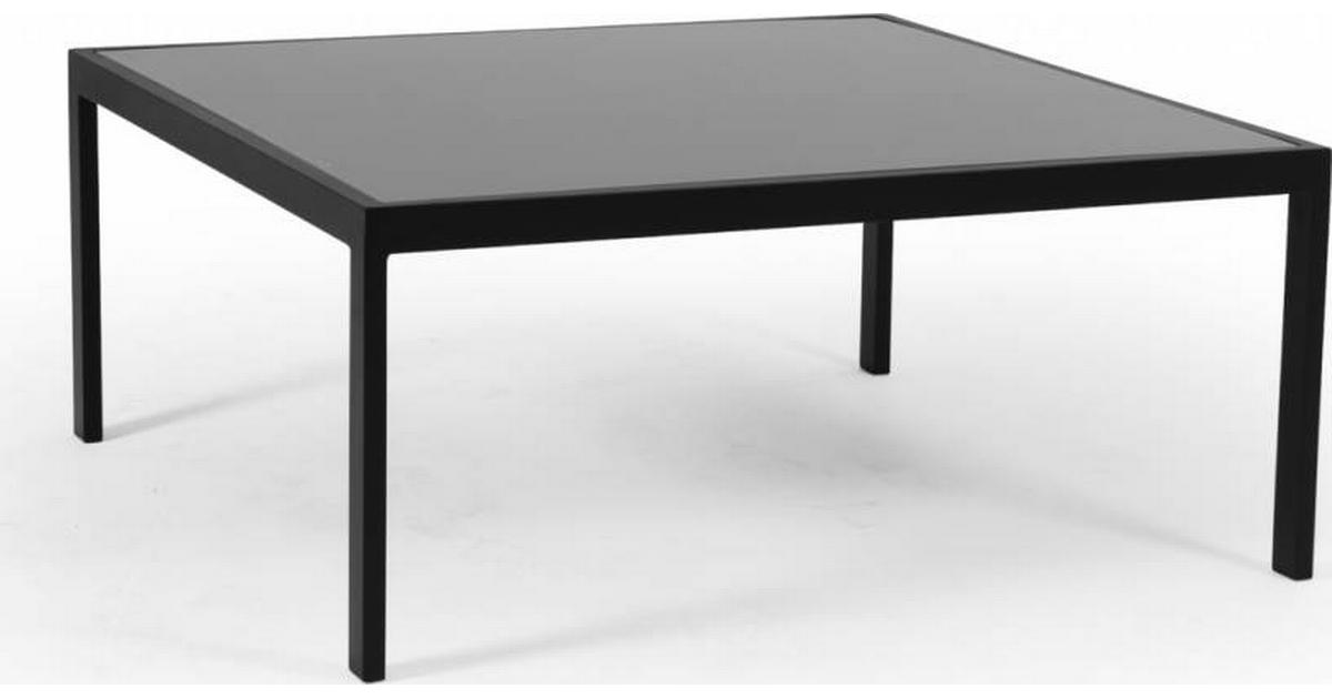 Leone soffbord matt vit 90x90 cm Kila Möbler