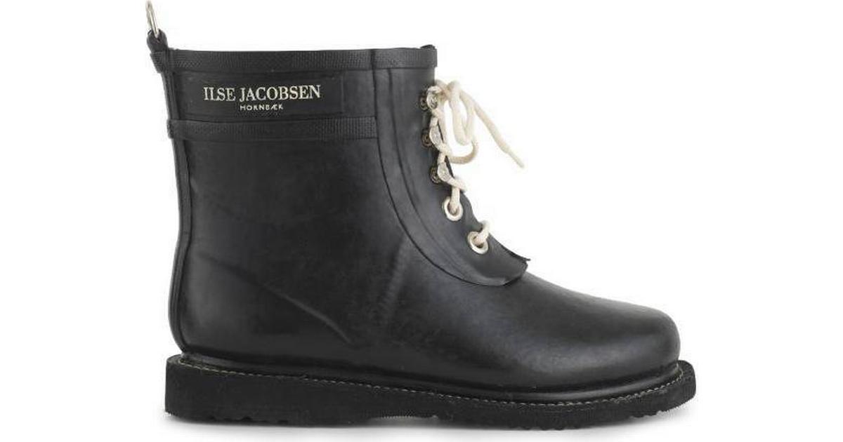 Ilse Jacobsen Long Rubberboot Black • Se priser (2 butiker) »