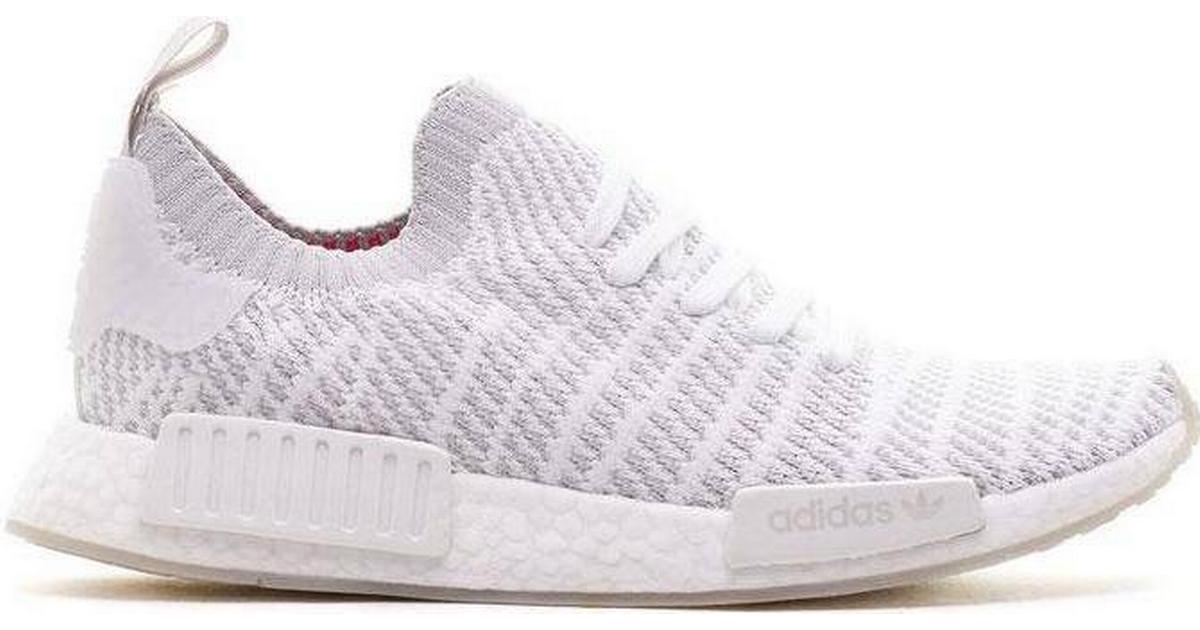 Adidas NMD_R1 STLT Primeknit M Cloud WhiteGrey OneSolar Pink