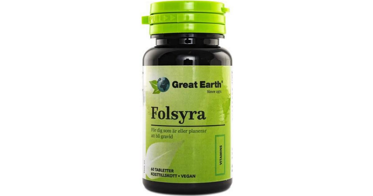 great earth folsyra