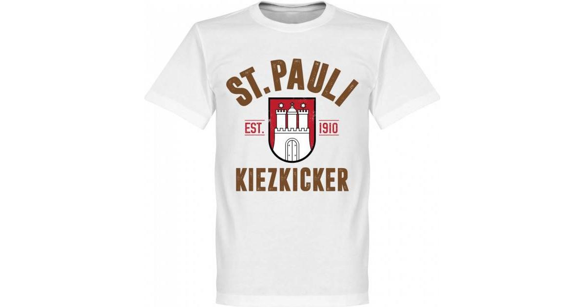 Retake St Pauli Established Tee White