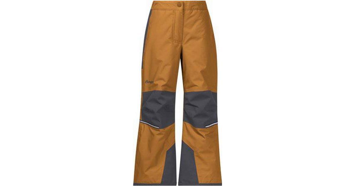 Bergans Storm Insulated Kids Pant DesertSolid Dark Grey (6956)