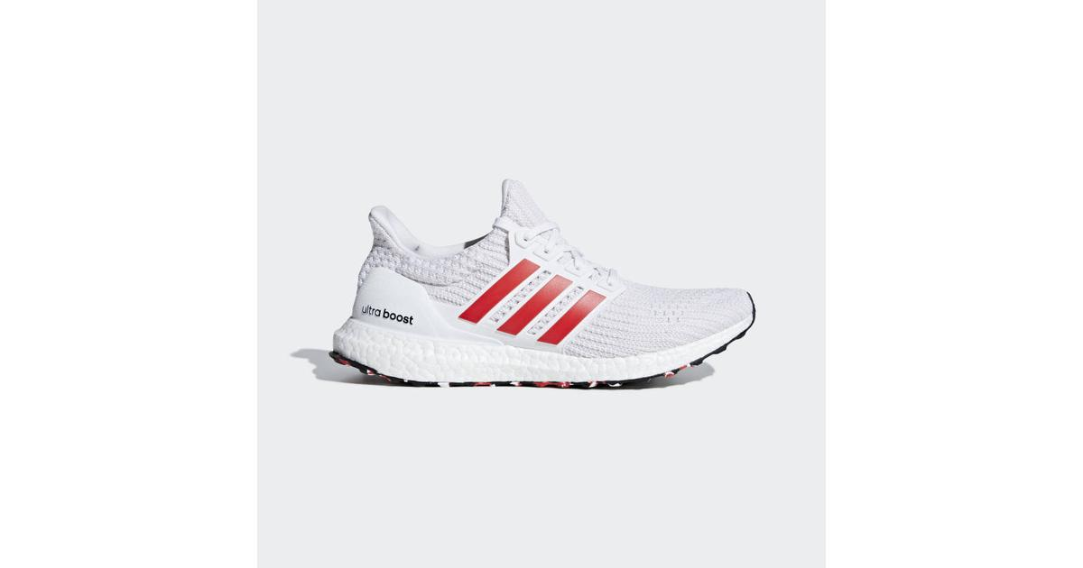 Adidas UltraBOOST M WhiteBlackRed