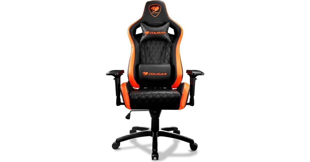 Cougar Armor S Gaming Chair BlackOrange Hitta bästa pris, recensioner och produktinformation på PriceRunner Sverige