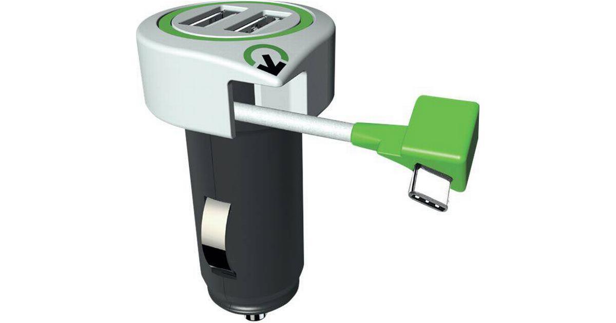 USB Laddare till Bilen 3,1A, 2 x USB | Iphone Laddare |