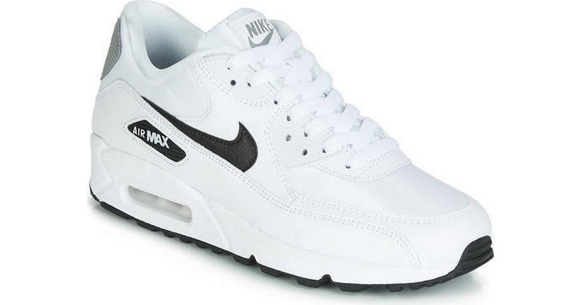 billiga air force Black White Silver Nike Air Max Sneakers