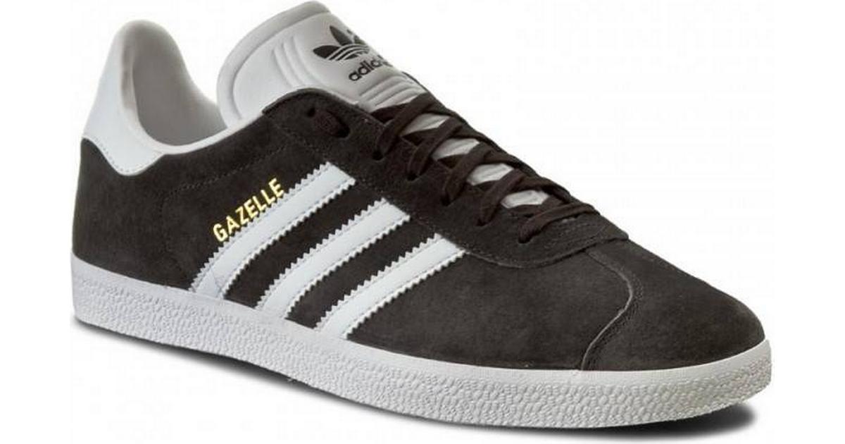 Adidas Gazelle Dark Grey HeatherWhiteGold Metallic