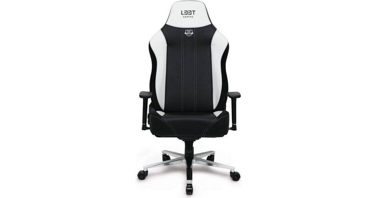 L33T E Sport Pro Ultimate XXL Gaming Chair BlackWhite Hitta bästa pris, recensioner och produktinformation på PriceRunner Sverige