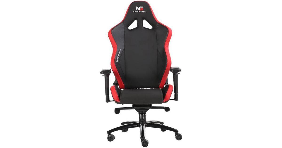 Nordic Gaming Heavy Metal Gaming Chair BlackRed