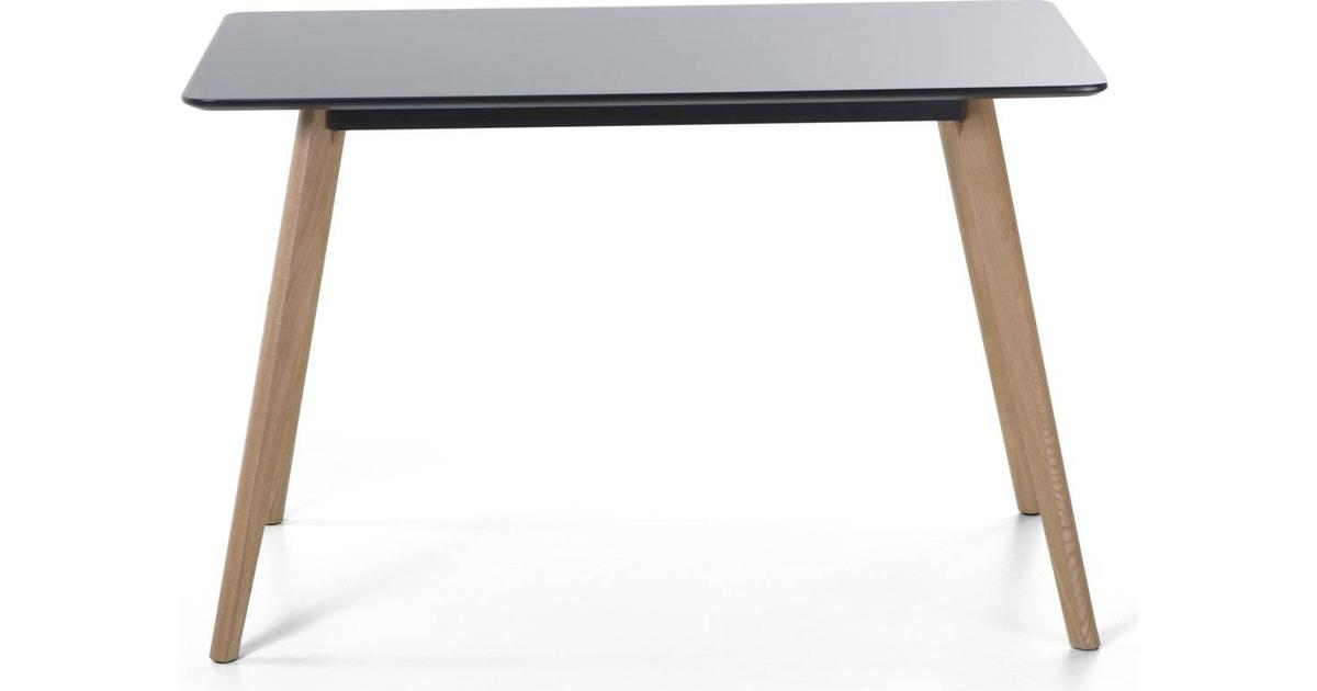 Matbord 120 x 80 cm svart FLY   Beliani.se