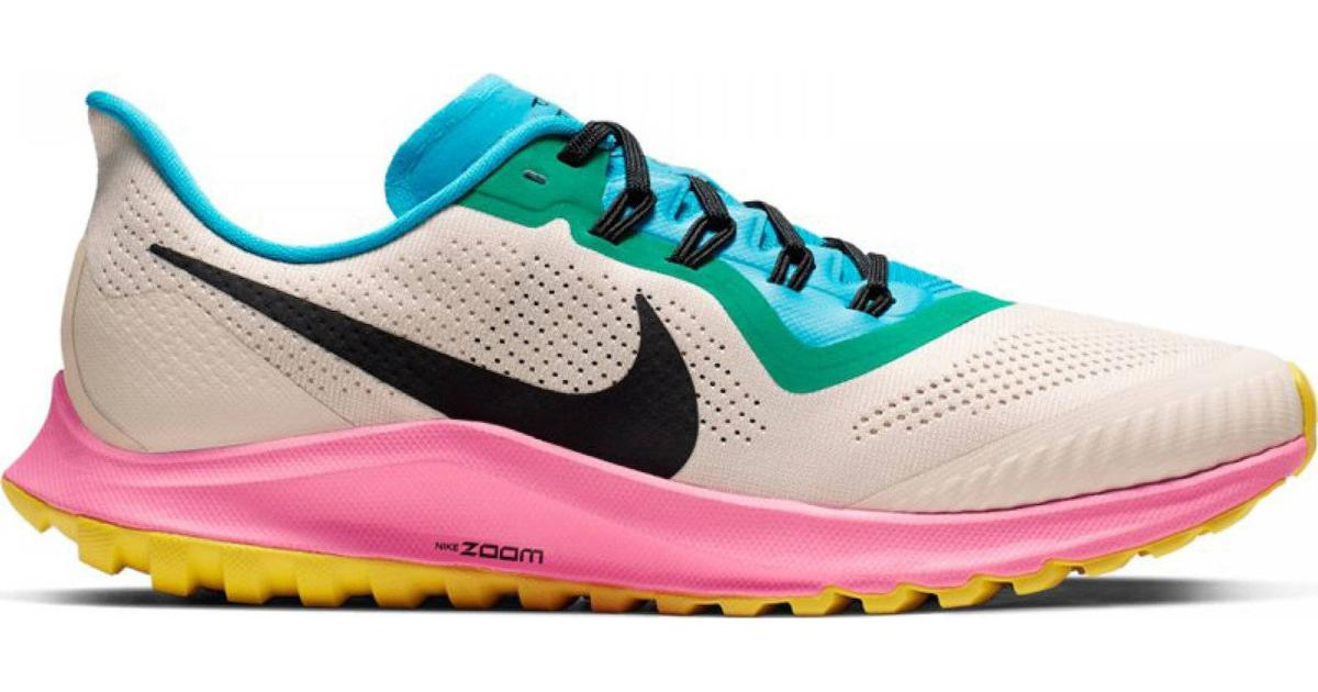 Nike Air Zoom Pegasus 36 Trail M Light Orewood BrownPink BlastBlue LagoonBlack