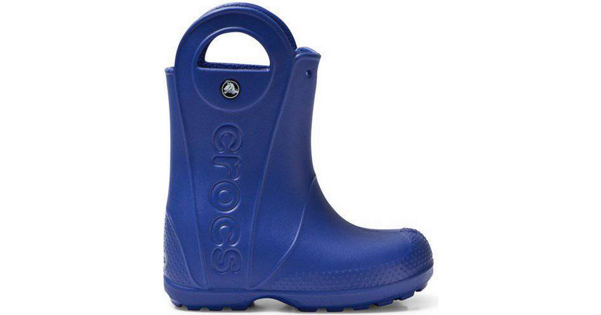 Crocs Kid's Handle It Rain Boot Cerulean Blue
