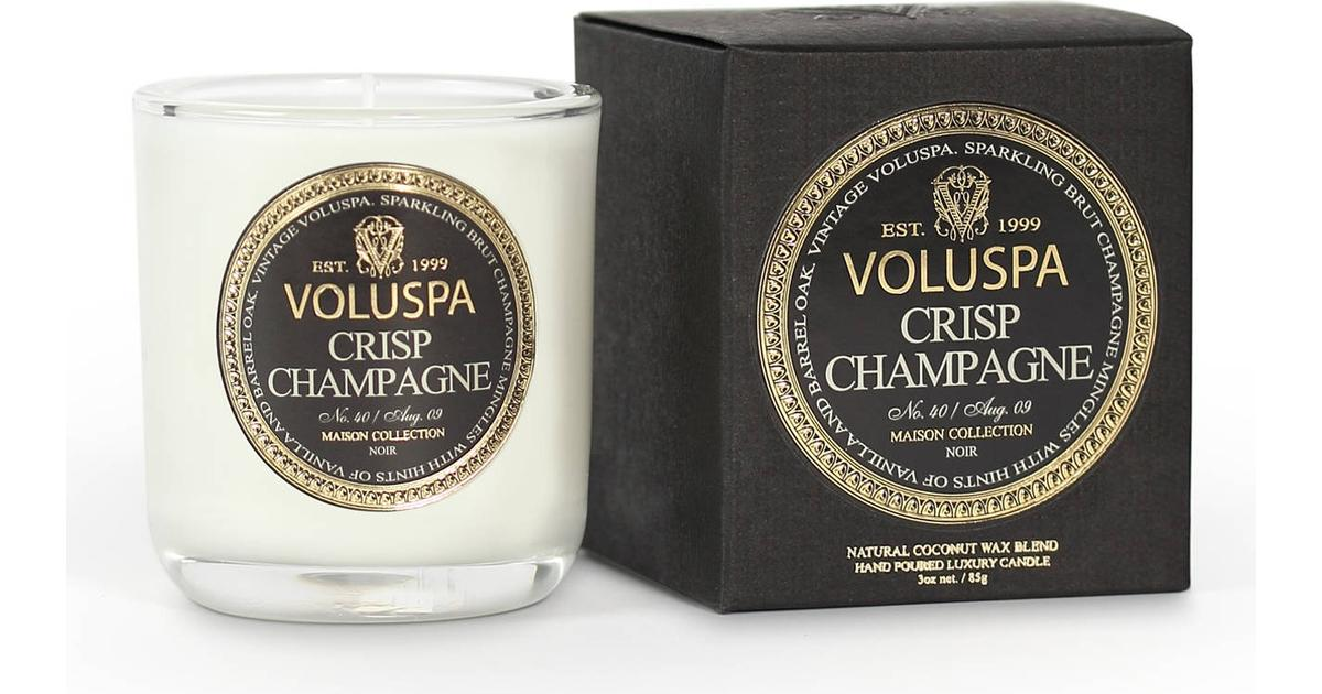 överlägsen kvalitet bästa valet presenter Voluspa Crisp Champagne 85g Doftljus - Hitta bästa pris ...