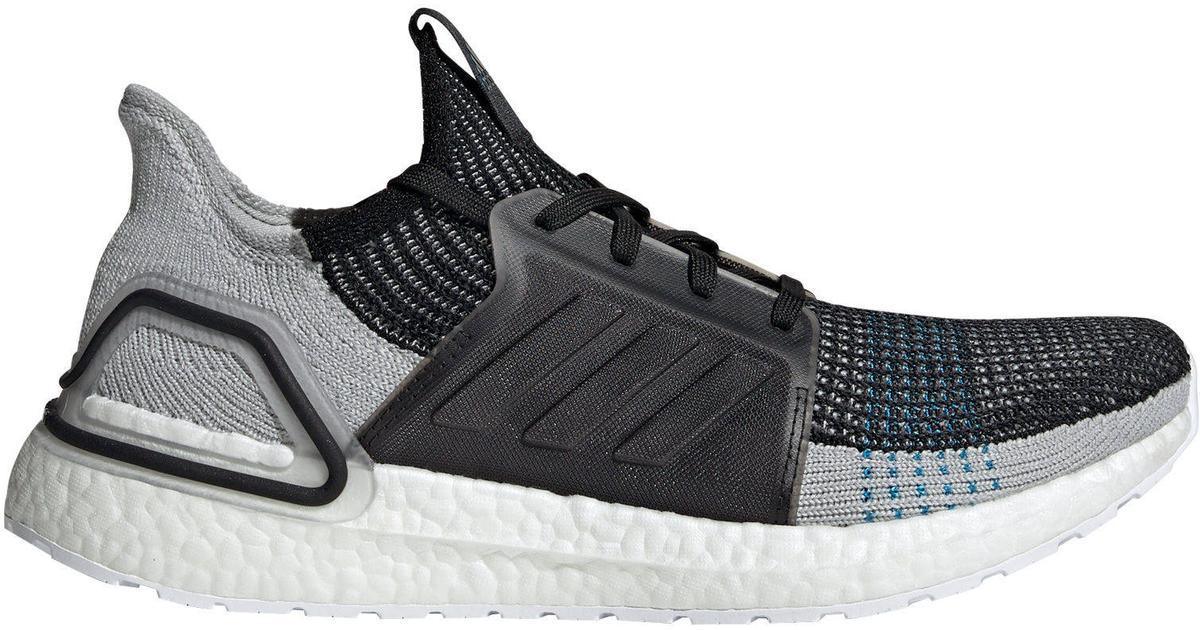 Adidas UltraBOOST 19 M Core BlackGrey SixShock Cyan