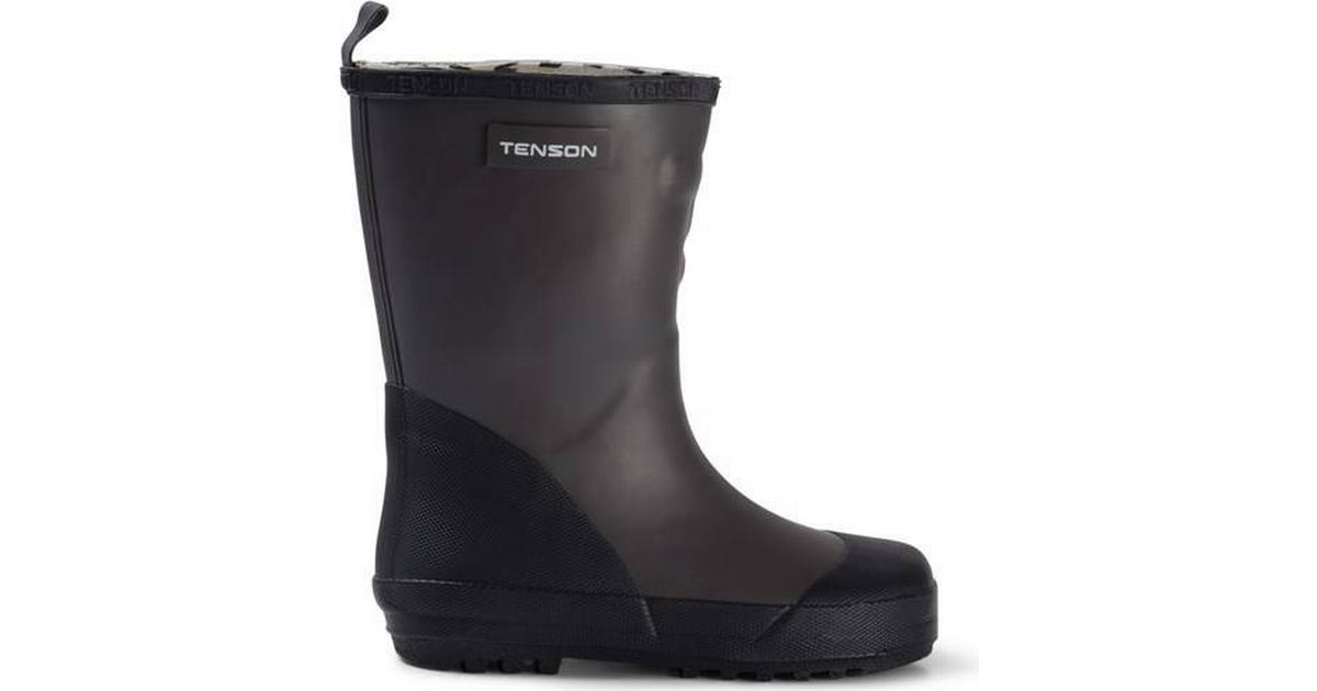 Tenson Sec Junior Shoes Dark Grey