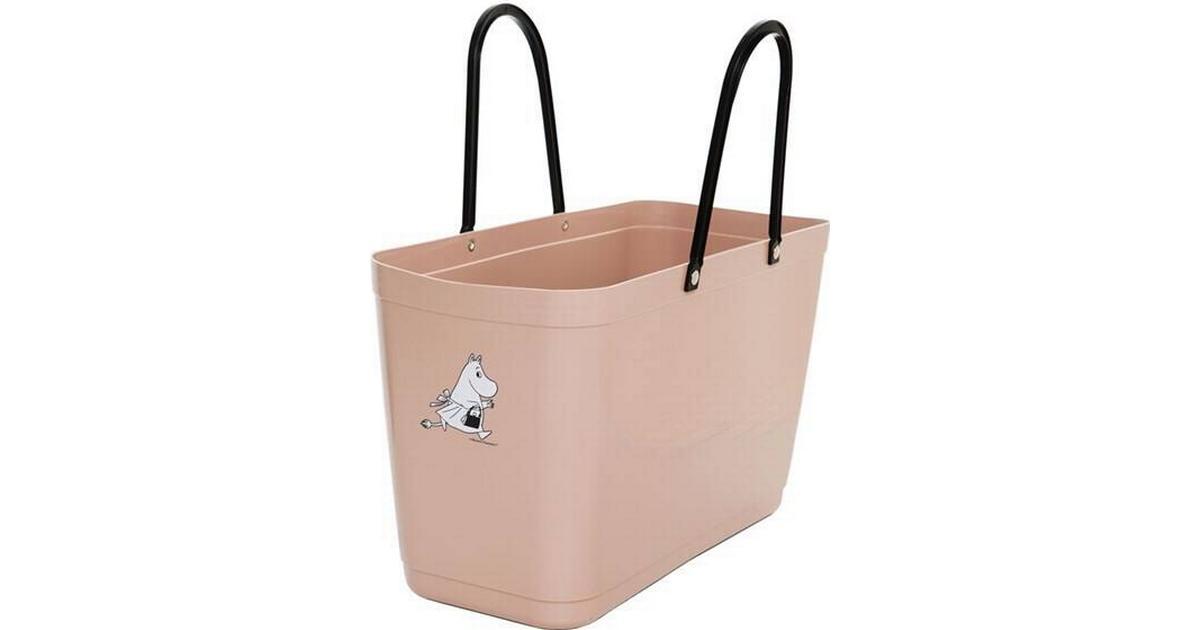 Hinza Green Plastic Shopping Bag Large Nougat Hitta bästa pris, recensioner och produktinformation på PriceRunner Sverige