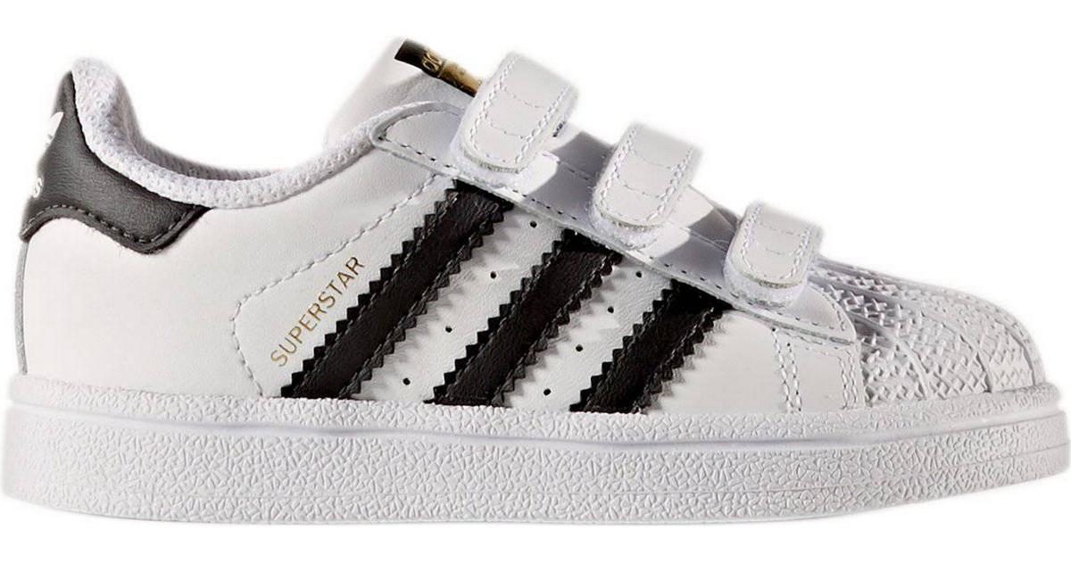 Skor Rea adidas Originals SUPERSTAR Vit Sneakers Läder