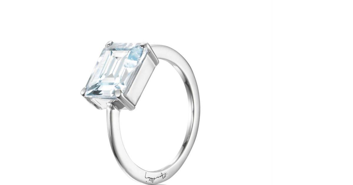 efva attling silver ring