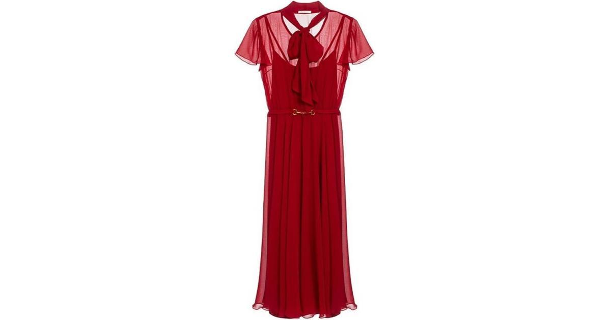 Polly Dress, Red Ida Sjöstedt invogue
