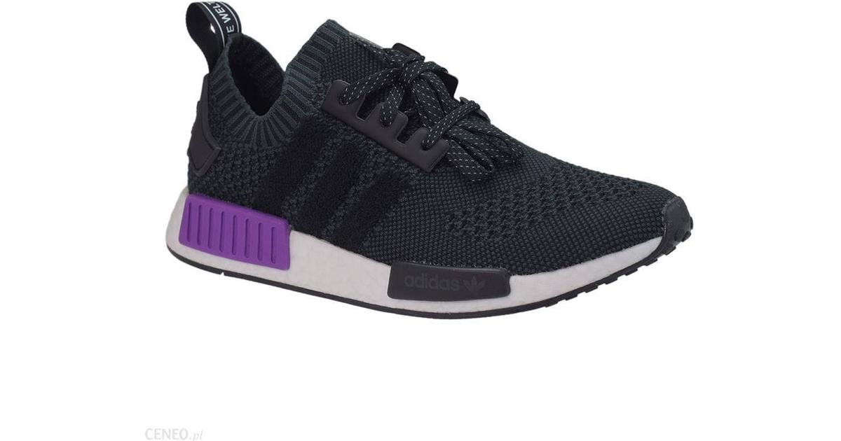 Adidas NMD_R1 Primeknit M Core BlackCore BlackActive Purple Hitta bästa pris, recensioner och produktinformation på PriceRunner Sverige