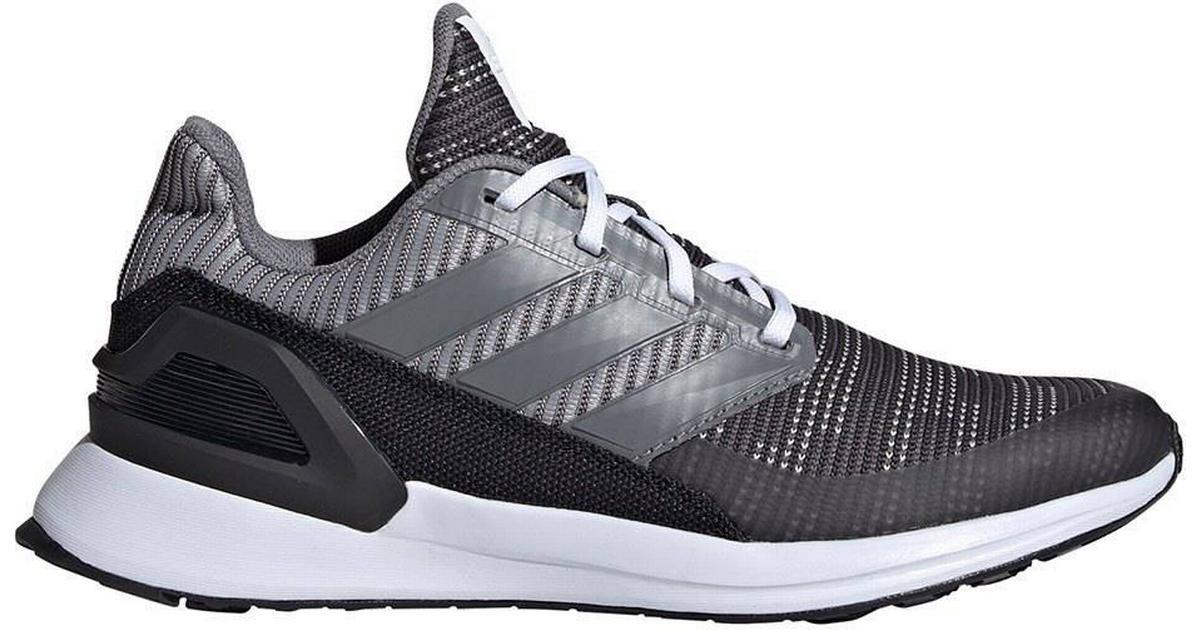Köp adidas Performance RapidRun Stickade Sneakers GråSvart