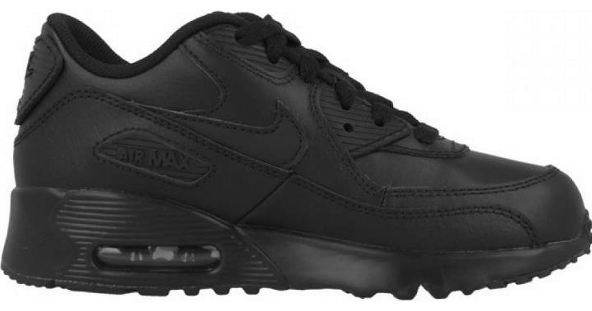 Nike Air Max 90 Leather PS Black �?Se priser (8 butiker) »