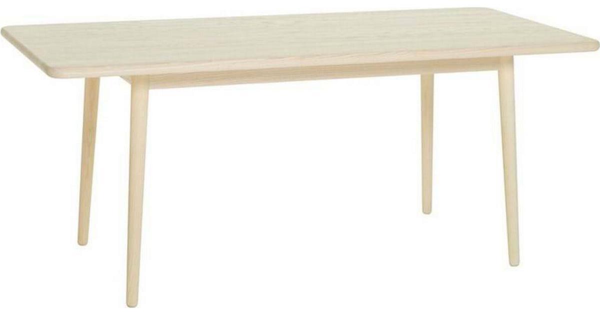 Miss Holly matbord, 175x82 cm björk ljus mattlack