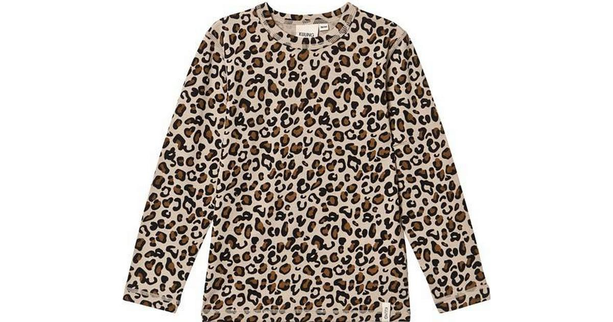Kuling Ull T Shirt Leopard (481676)
