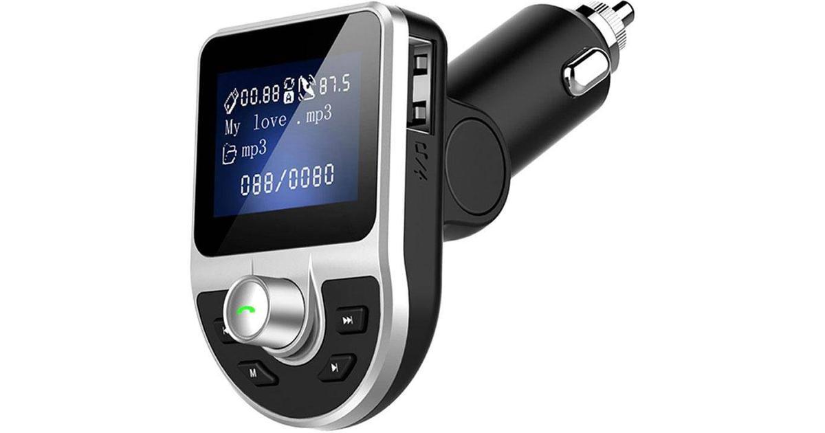 Baseus Locomotive FM sändare med Bluetooth handsfree & Laddare