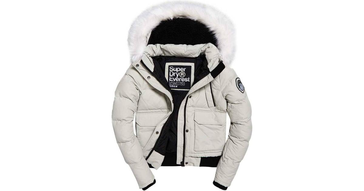 Superdry Ashley Everest Parka Jacket Glacier Grey