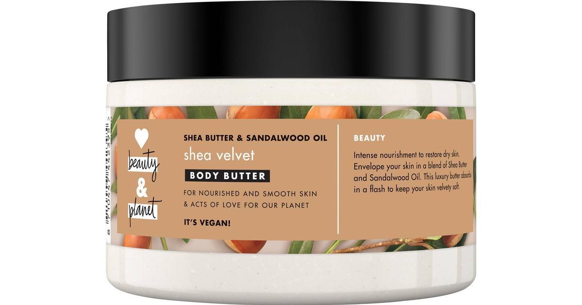 stort urval stor försäljning varm produkt Love Beauty & Planet Body Butter Shea Butter & Sandalwood 250ml ...