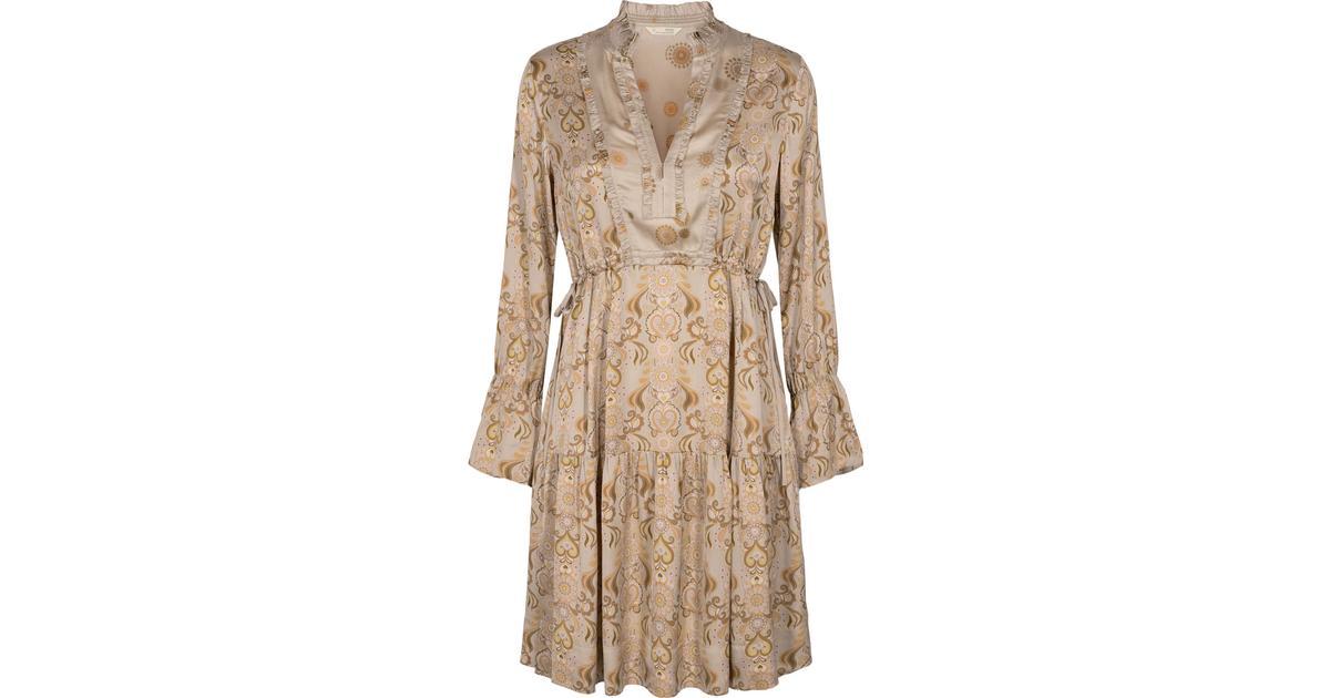 Odd Molly Brilliant & Brave Dress Asphalt • Se priser (1