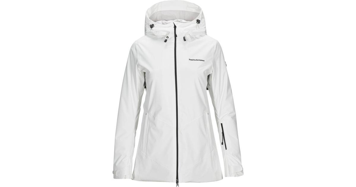 Peak Performance Anima Long Jacket with Hood Off White Hitta bästa pris, recensioner och produktinformation på PriceRunner Sverige