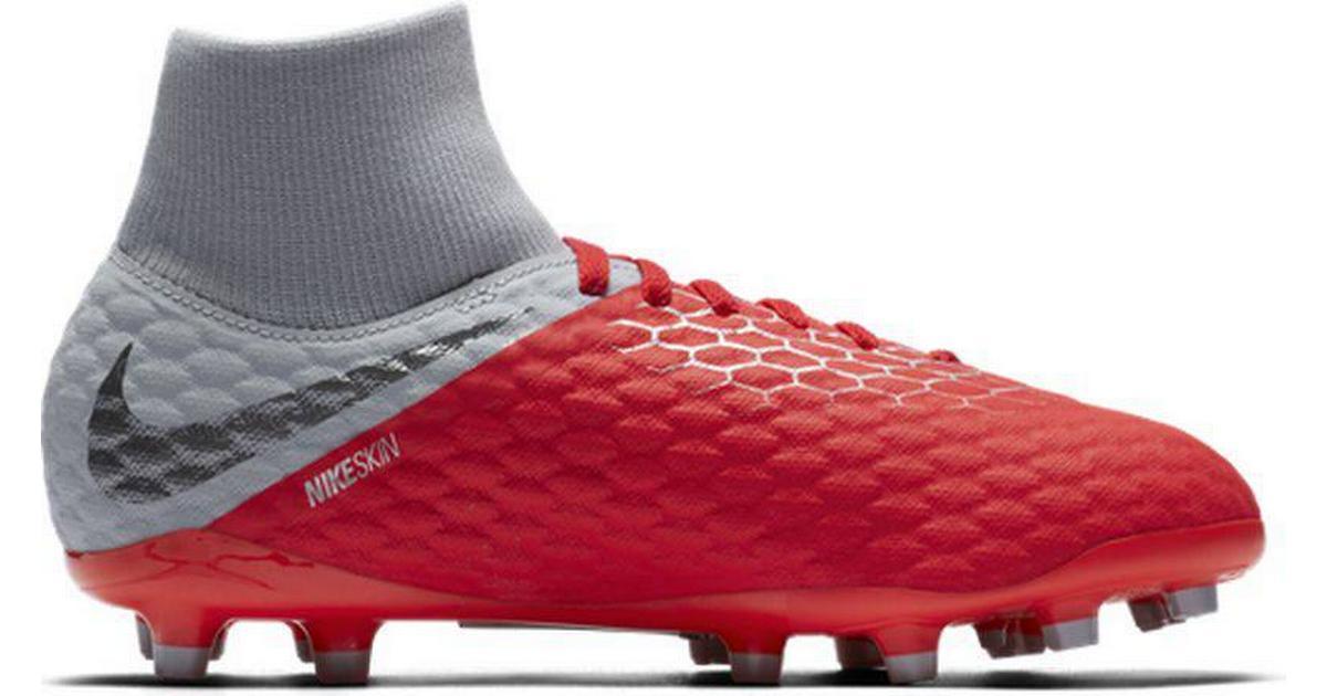 Nike Hypervenom Phantom III Academy Dynamic Fit FG GreyRed Hitta b?sta pris, recensioner och produktinformation p? PriceRunner Sverige