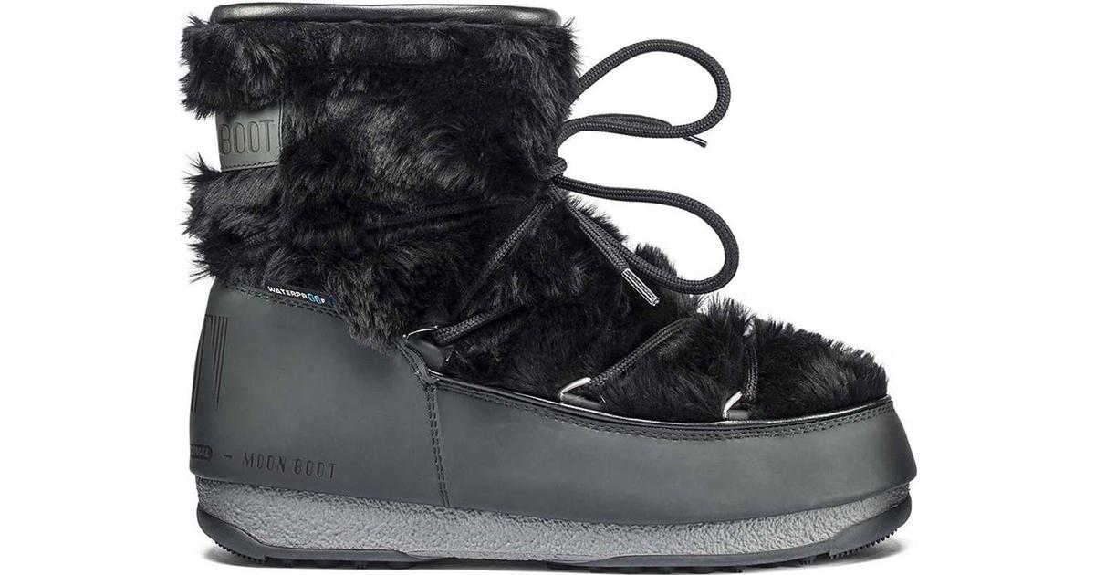 Moon Boot Monaco Low Fur WP 2 W Black