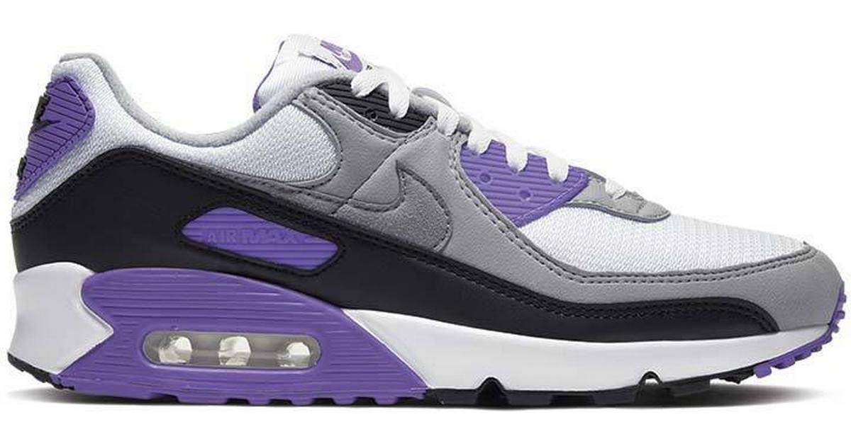Nike Air Max 90 M WhiteLight Smoke GreyBlackParticle Grey