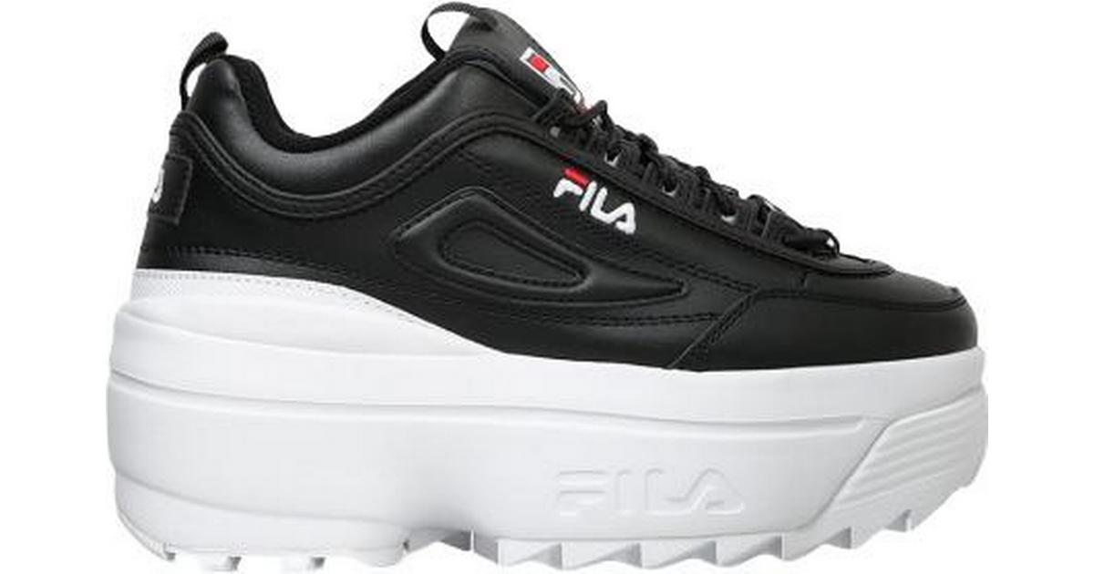 Fila Disruptor II Wedge W BlackWhiteFila Red Hitta b?sta pris, recensioner och produktinformation p? PriceRunner Sverige