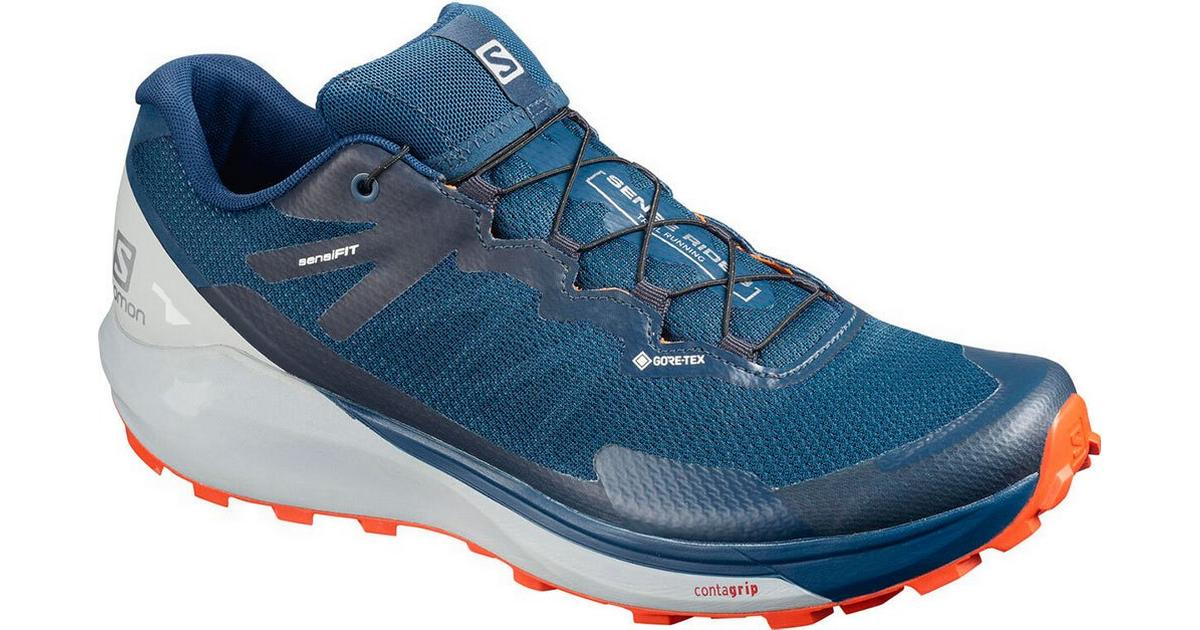 Salomon Sense Ride 3 GTX Invisible Fit M PoseidonPearl BlueCherry Tomato