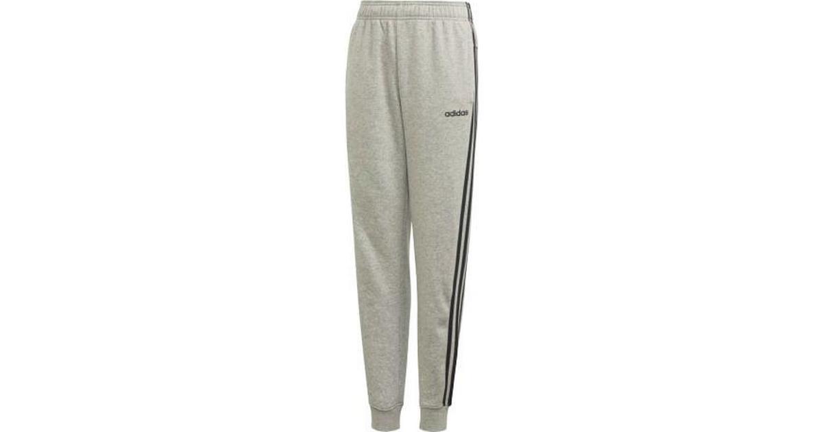 Adidas Essentials 3 Stripes Pants Children Medium Grey HeatherBlack