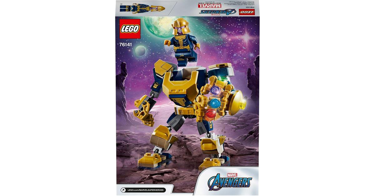 Super Heroes Avengers Marvel NEW LEGO Thanos minifigure #76141