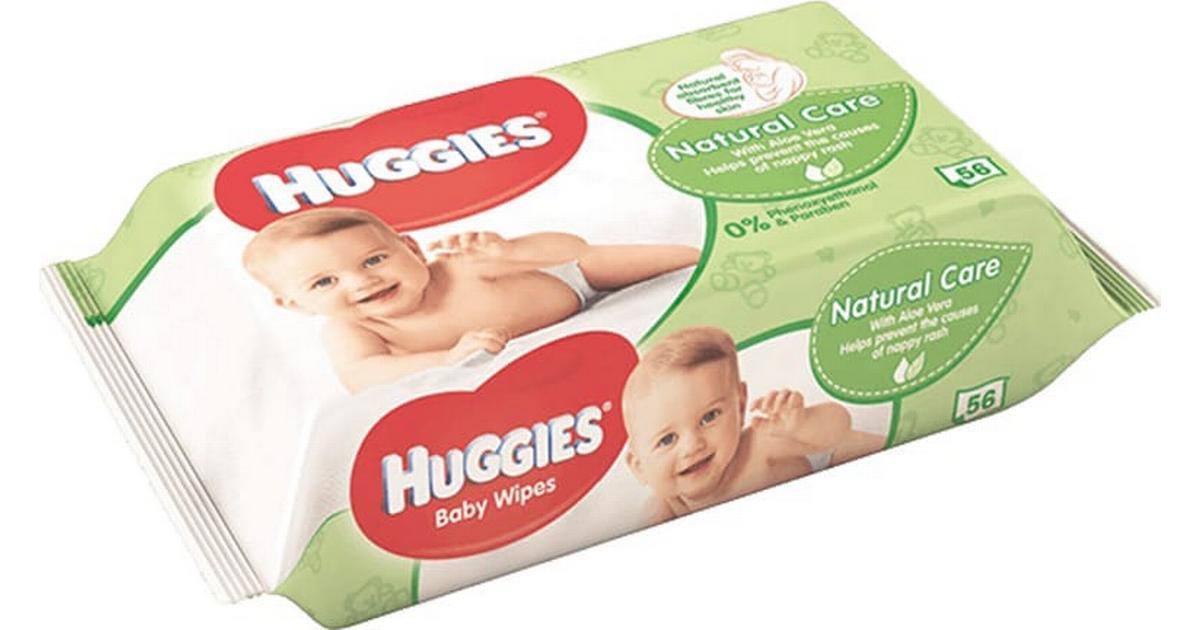 huggies våtservetter test