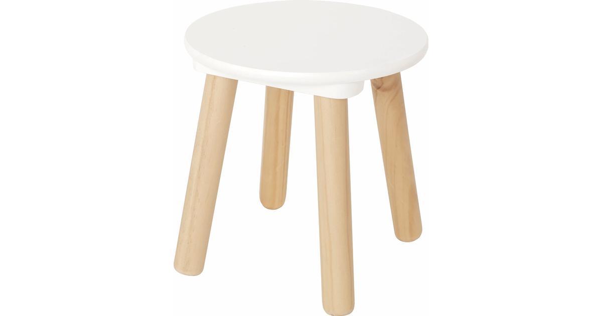 JaBaDaBaDo vit stol Babylove.se